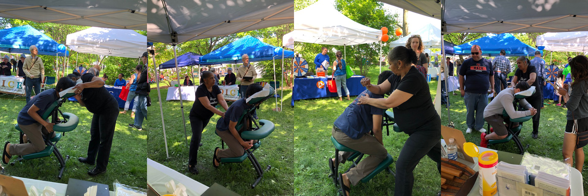 massage corporate events